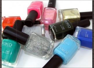 Kiko July 2012 nail polish haul
