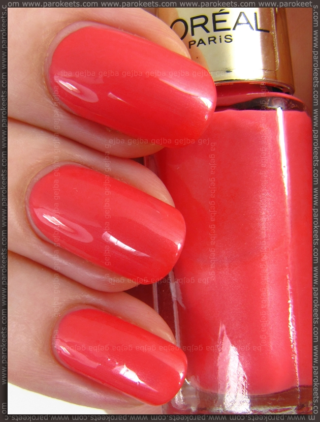 Maybelline Color Sensational Lipstick Coral Crush Review Swatch