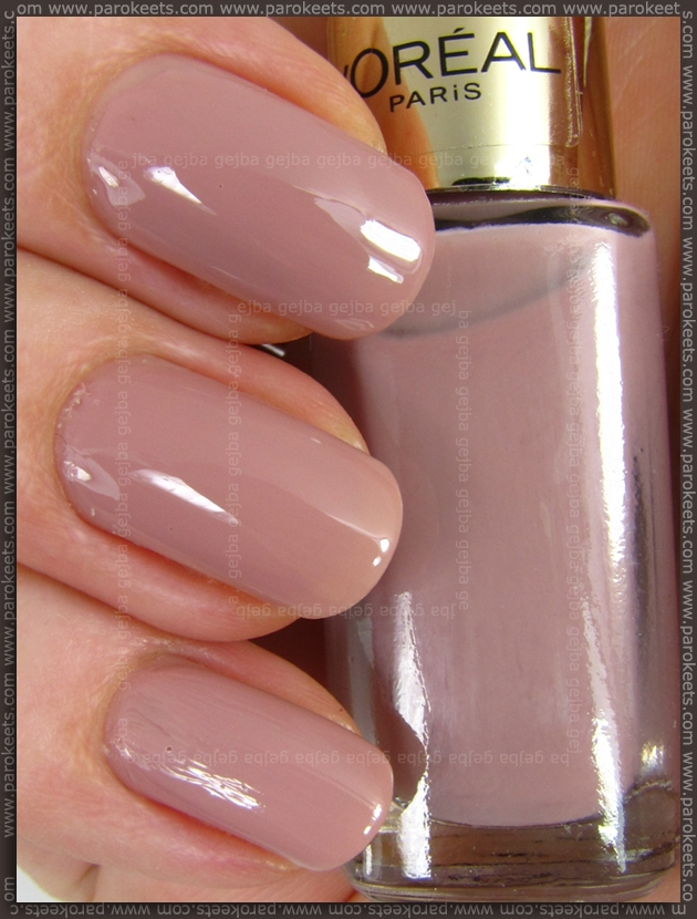 Oreal Color Riche: Dating Coral and Rose Bagatelle nail polish