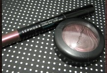 MAC Extra DImension Shadows in Rich Core, Sephora 12h Jumbo Liner in Purple