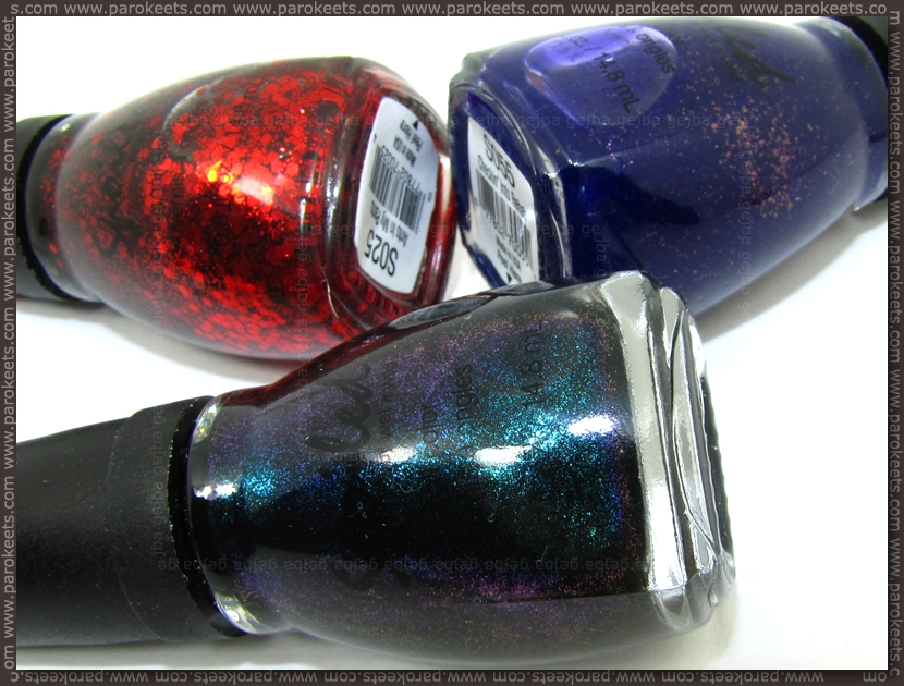 Spoiled nail polishes