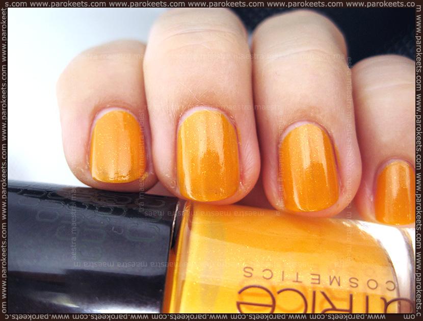 Swatch: Catrice Cucuba LE: C01 Sunny Side nail polish