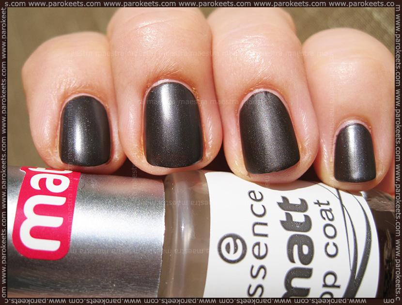 Swatch: Catrice Cucuba LE: C02 Reggaeton nail polish (matte)