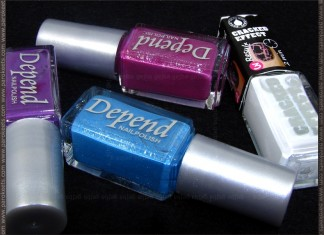 Depend 202, 228, 218, 5000 nail polishes