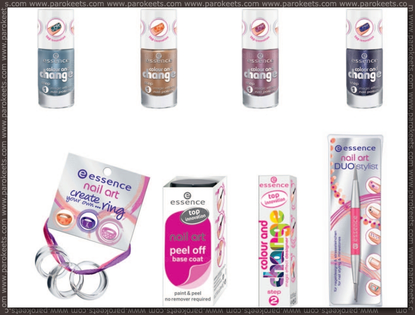 New Essence products for fall 2012 Colour and Change