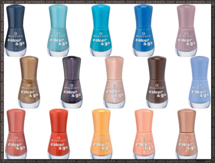 New Essence products for fall 2012 Colour&Go