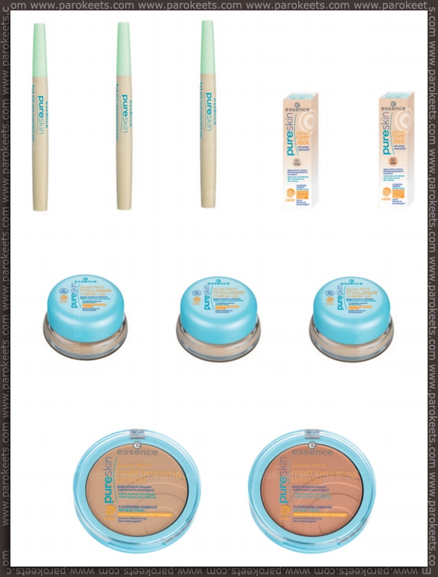 Essence going away products - fall 2012 - Pure Skin