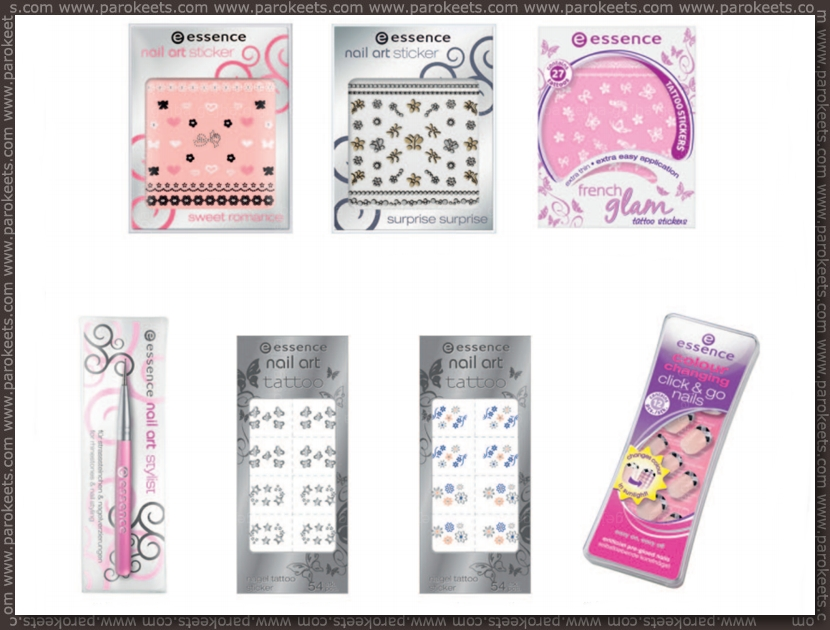 Essence going away products - fall 2012 - nail art