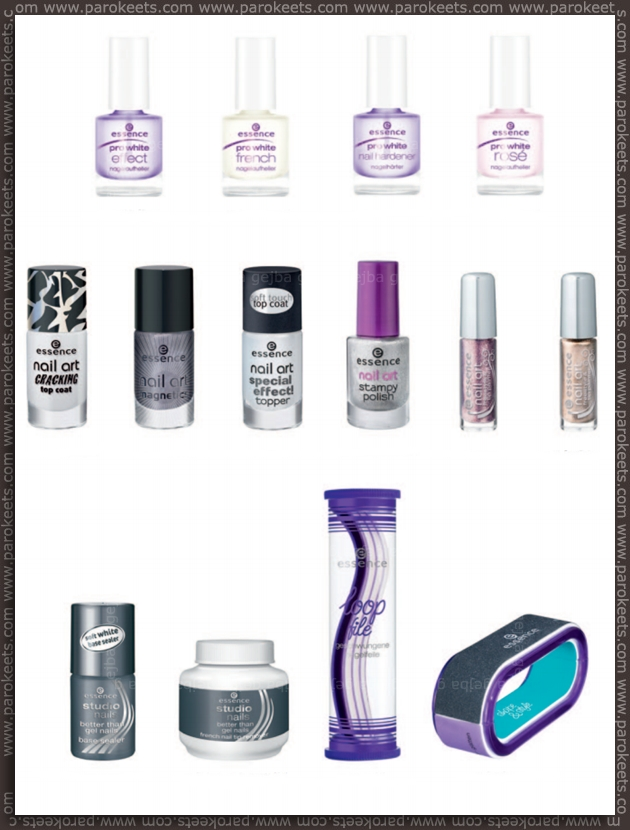 Essence going away products - fall 2012 - nails