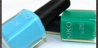 Kiko Celeste 340 and Verde Primavera 343