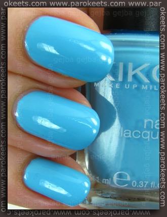 Kiko Celeste 340 nail polish