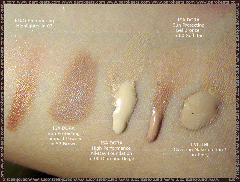 Maestra's Summer Favorites (July 2012): foundation, contouring