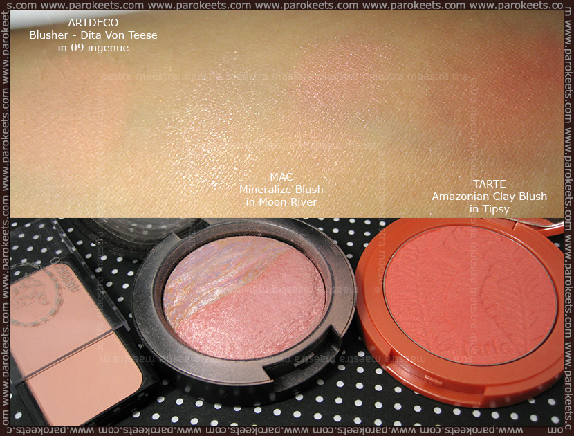 Maestra's Summer Favorites (July 2012): blushes