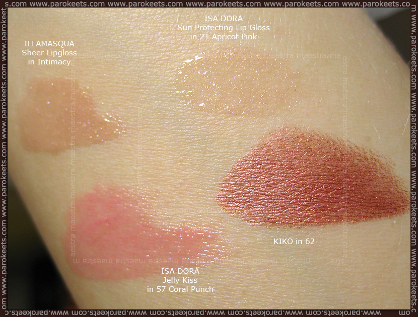 Maestra's Summer Favorites (July 2012): lip products