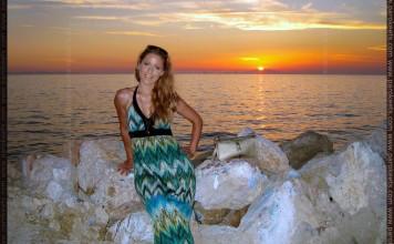 OOTD: Summer Sunset
