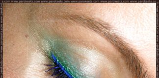 Kiko purple mascara and Collistar Eye Liner in 16 Pavone MakeUp Look by Maestra