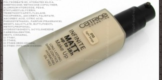 Catrice Infiniti Matt 18h liquid foundation - Light Beige 010
