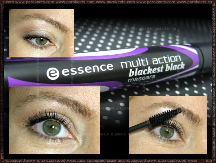 Swatch: Essence - Multi Action Blackest Black Mascara