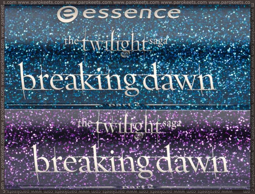 Essence Twilight Breaking Dawn TE: liquid eyeliners (preview)