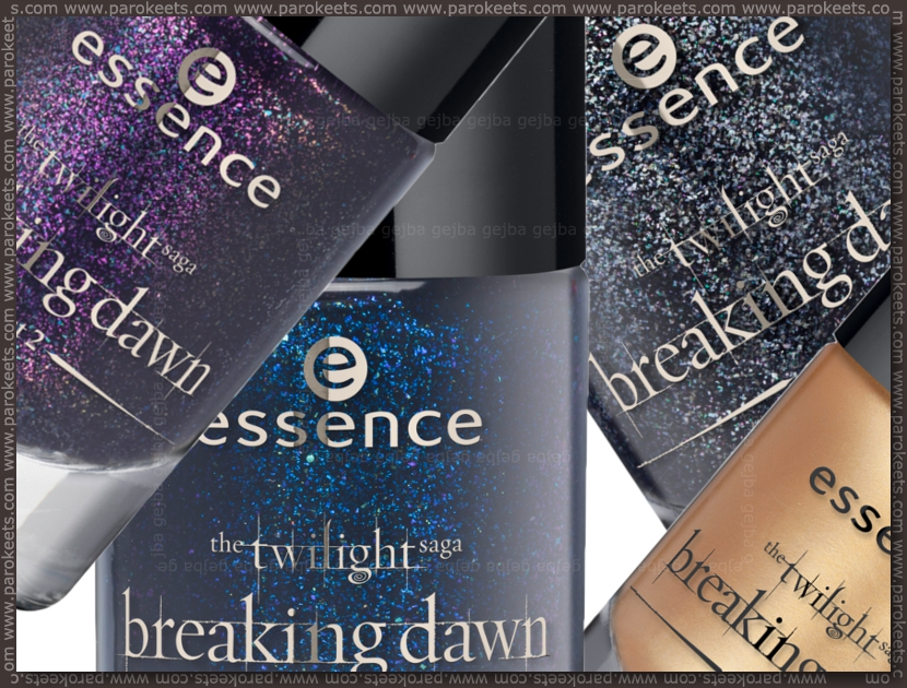 Essence Twilight Breaking Dawn TE: nail polishes (preview)