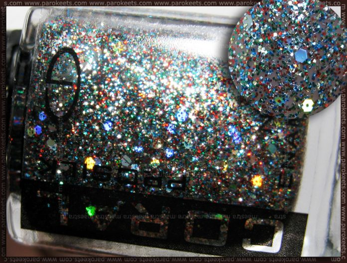 Swatch: Eveline Coral Prosilk nail enamel - Las Vegas - 500