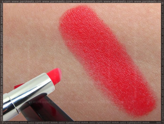 Jade Maybelline - Coral Tonic (422) lipstic swatch