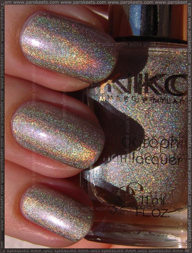 Kiko Lavish Oriental nail polish 399 - Silk Taupe