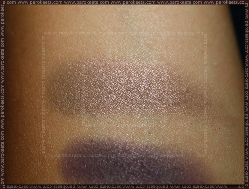 Swatch: Make Up Factory: Fall Winter 2012 - Eye Shadow No. 15 Havana Brown