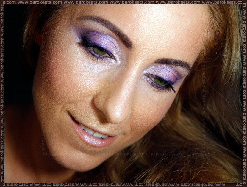 Purple with Make Up Factory Fall Winter 2012