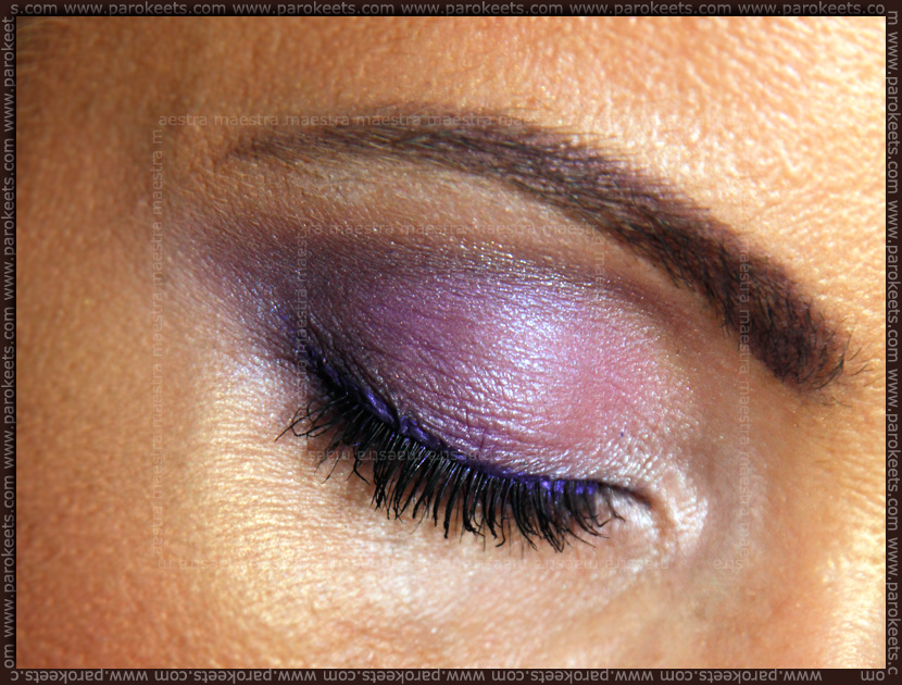 Make up look: Purple with Make Up Factory Fall Winter 2012