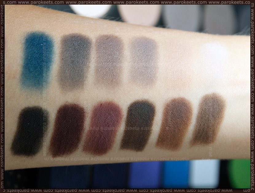 Swatch: Ben Nye - Glam Shadow Palette ESP 954