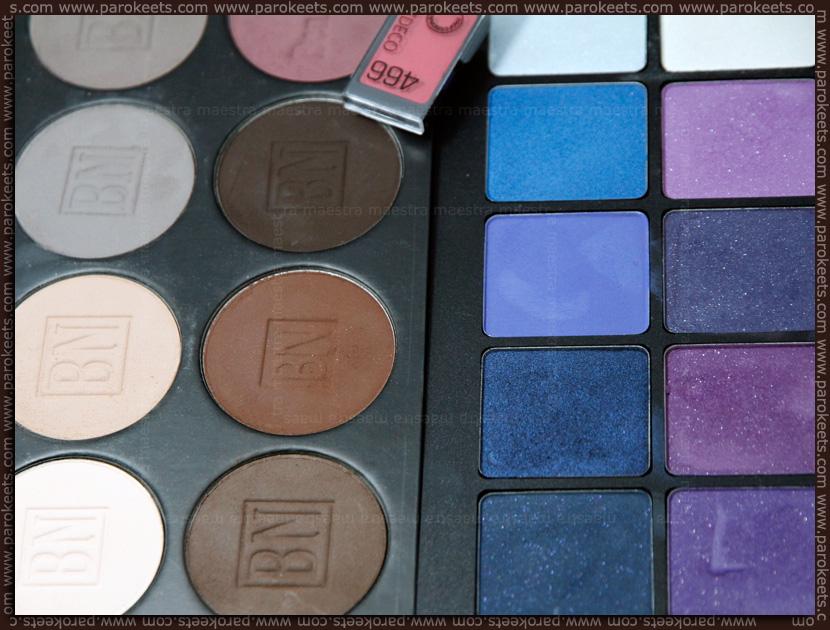 Ben Nye - Glam Shadow Palette ESP 954 vs Inglot