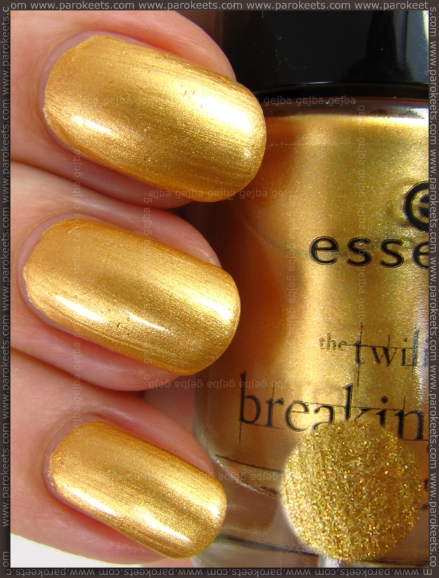 Essence Breaking Dawn - A Piece Of Forever nail polish