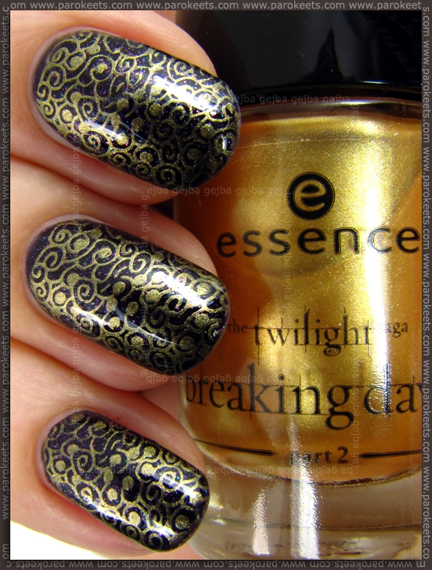Essence Breaking Dawn - A Piece Of Forever stamping