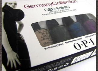 OPI Germany Collection - Ger-minis