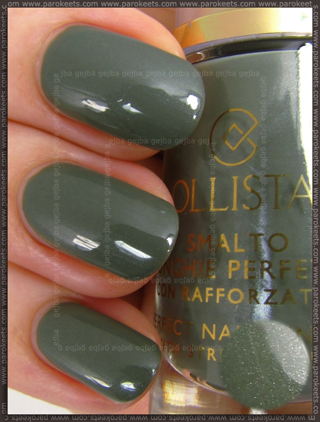 Collistar Khaki nail polish (Milano LE)