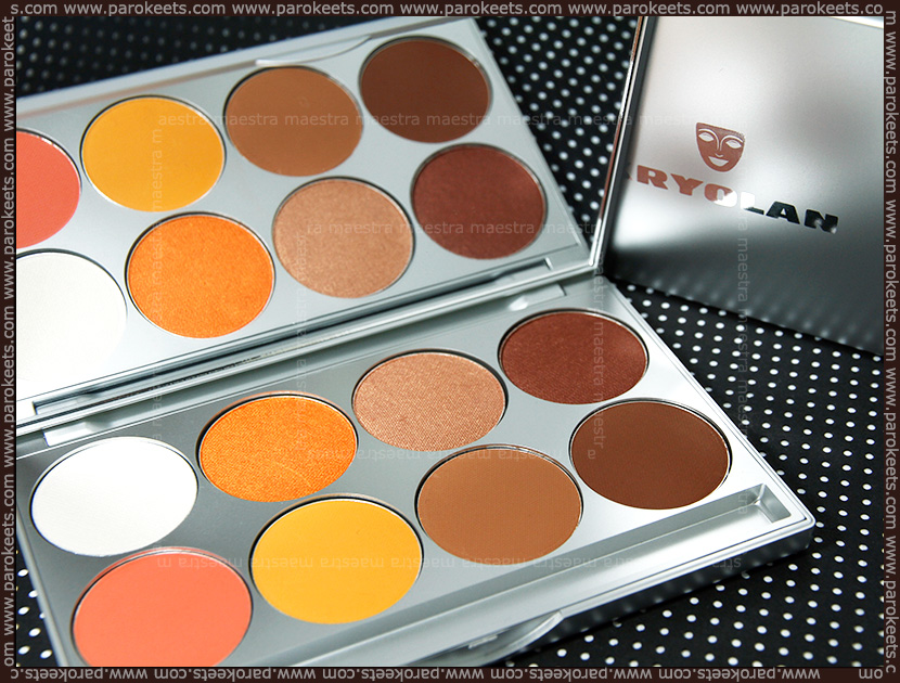 Kryolan-eyeshadows-swatch-1B