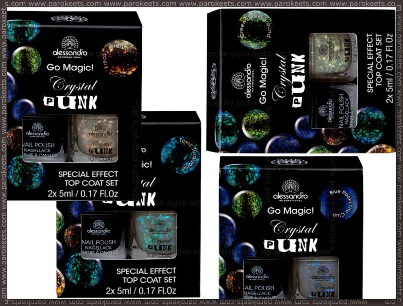 Alessandro Crystal Punk flakie set