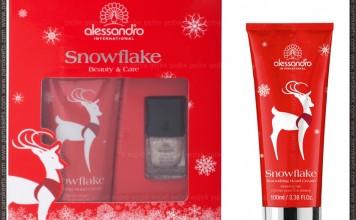 Alessandro Snowflake gift set