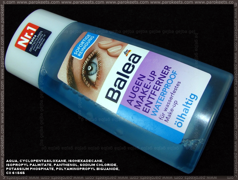 Balea Augen Make-Up Entferner waterproof