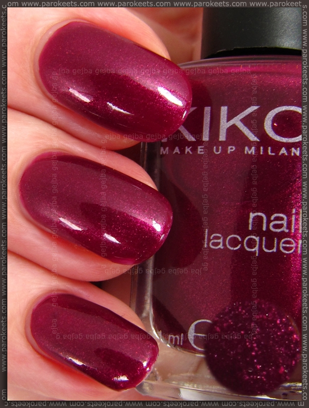 Kiko 242 nail polish swatch
