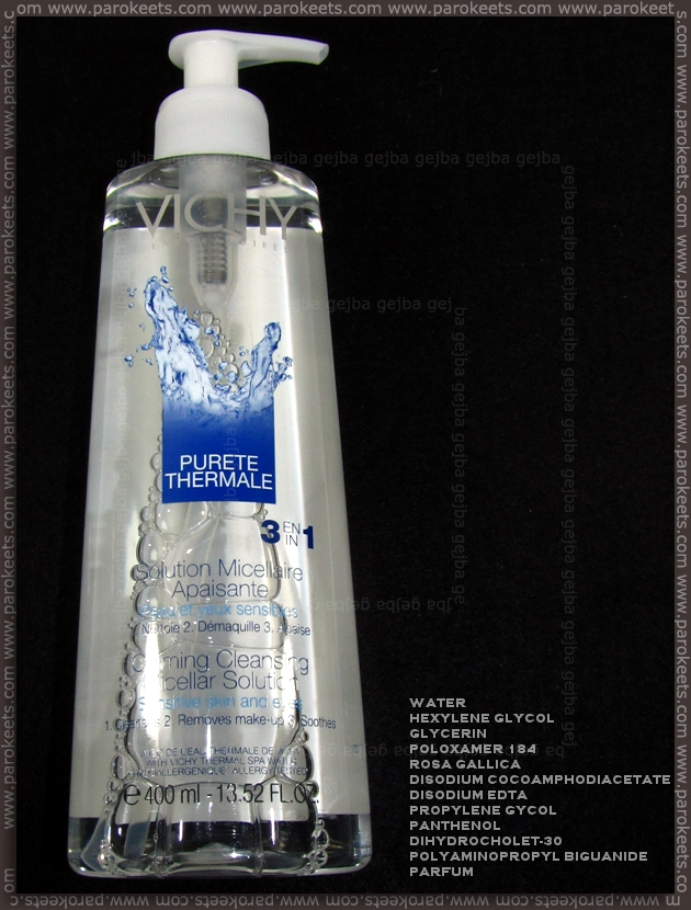 Vichy Purete Thermale 3in1 Calming Cleansing Micellar Soloution