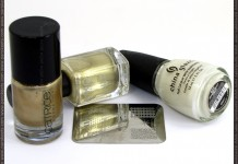 China Glaze Moonlight, Catrice, Goldfinger, Essence image plate, Kiko 274 products