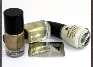 China Glaze Moonlight, Catrice, Goldfinger, Essence image plate, Kiko 274 products