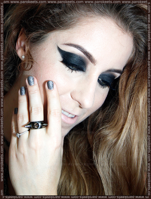 Editorial make up look: Rock Chic(k) by Maestra