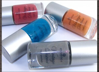 Essence Vintage District LE nail polishes