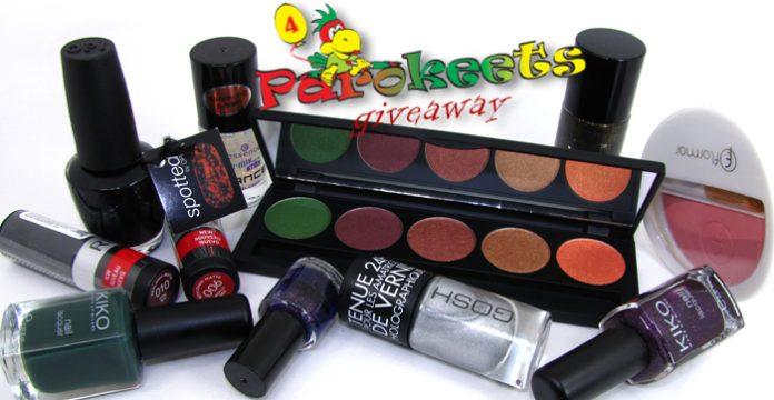 Parokeets blog - Fourth birthday/blogiversary giveaway