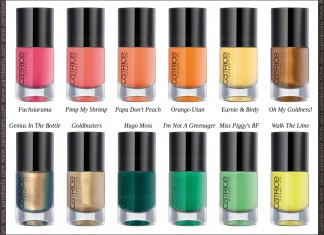 Catrice new nail polishes spring 2013
