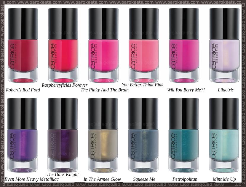 Purple Nail Color Names
