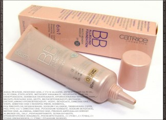 Catrice BB Allround Foundation - Light Beige (no. 010) with ingredients